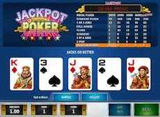 Jackpot Video Poker Maskiner online 2021